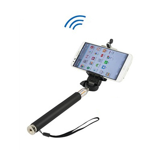 paddy 台菱 SMO-B0001 遙控藍芽自拍棒 黑色 100cm 七段式伸縮 無線藍芽 自拍神器 保固