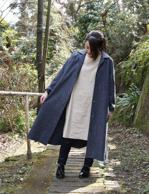 棉質Bal領大衣