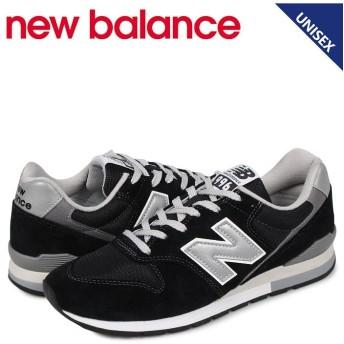 スニークオンラインショップ ニューバランス new balance 996 スニーカー メンズ レディース Dワイズ ブラック 黒 CM996BP ユニセックス その他 US7.5-25.5 【SNEAK ONLINE SHOP】