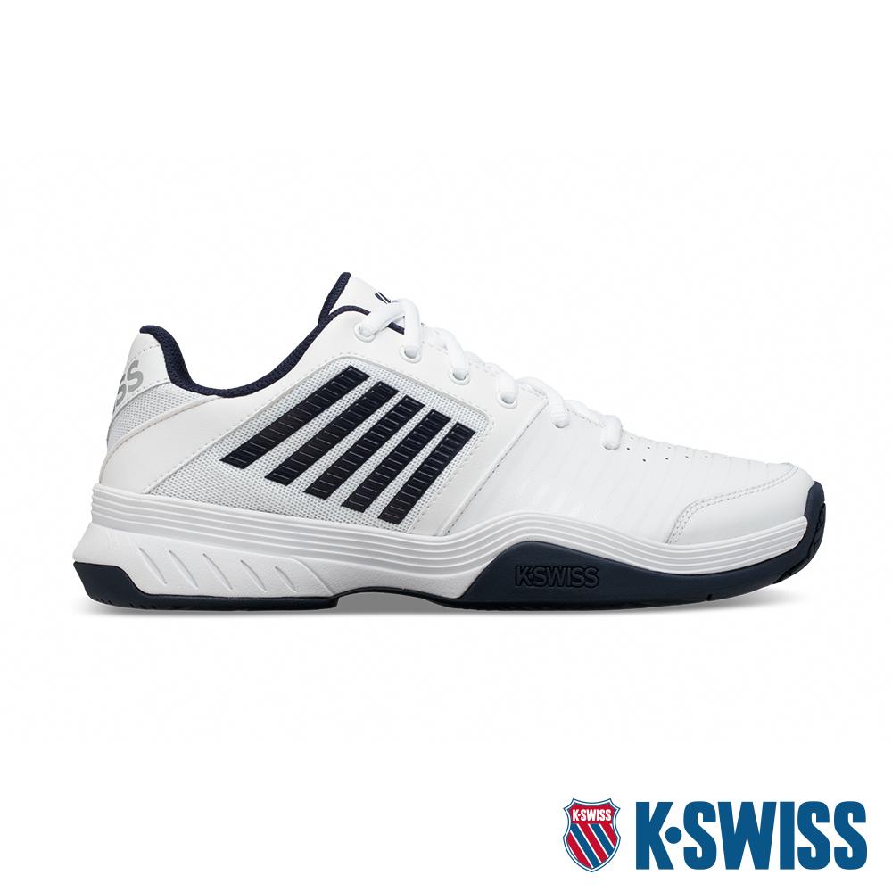 K-SWISS Court Express輕量網球鞋 男 白 藍05443-109