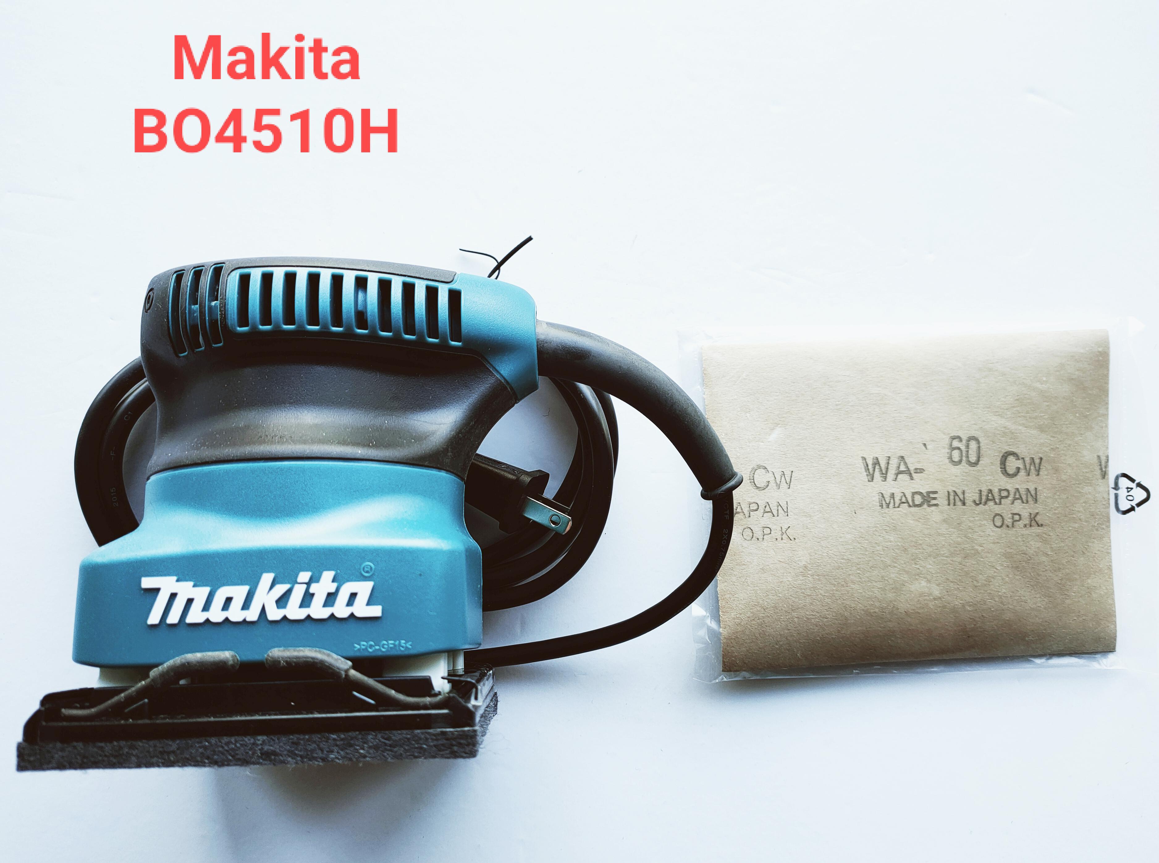 Makita牧田 BO4510H 拋光機 研磨機 散打 砂紙機 補土磨平