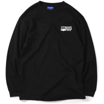 Lafayette ラファイエット NEVER BACK DOWN L/S TEE 長袖 Tシャツ LS200105 BLACK ブラック