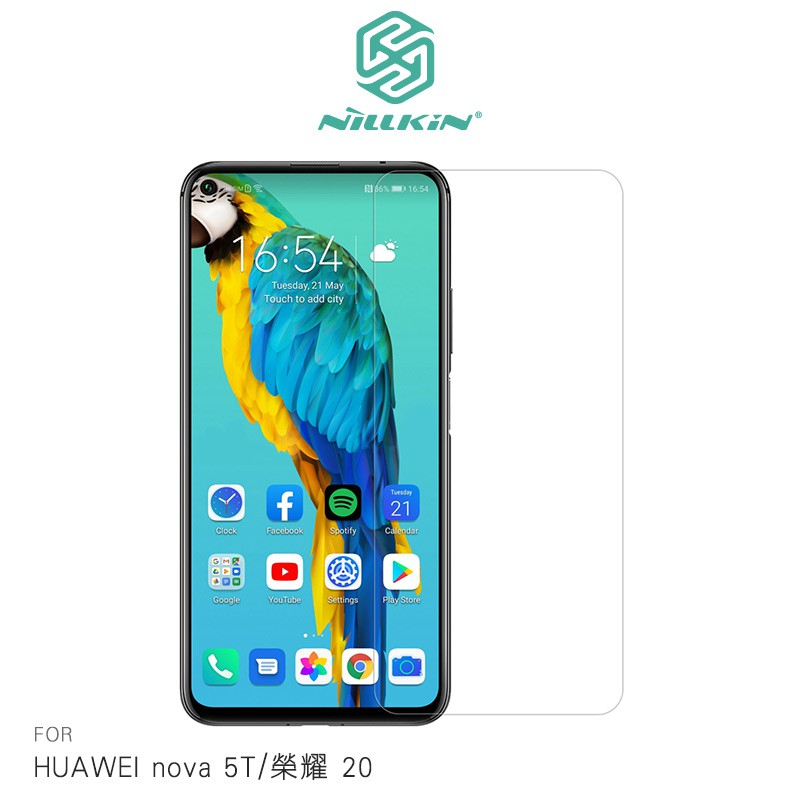 NILLKIN HUAWEI nova 5T/榮耀 20 Amazing H 玻璃貼