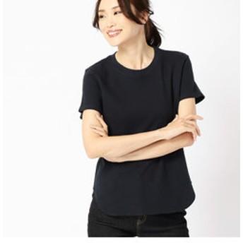 【COMME CA ISM:トップス】〔ONIGIRI〕 ワッフル Tシャツ