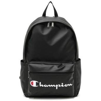ギャレリア チャンピオン リュック Champion リュックサック バケット バックパック デイパック 通学 B4 A4 22L 62485 ユニセックス ブラック F 【GALLERIA】