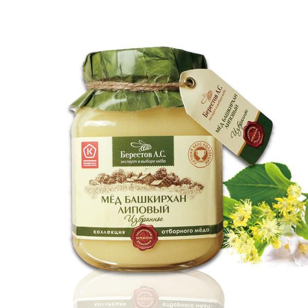 【Berestoff】優質天然椴樹生蜂蜜 (200g/500g)