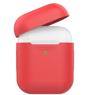 AirPods 耳機保護套【輕薄系列】保護殼 經典款 矽膠保護套 (分離式) 不易鬆脫滑落 防摔 保護性佳 AHASTYLE