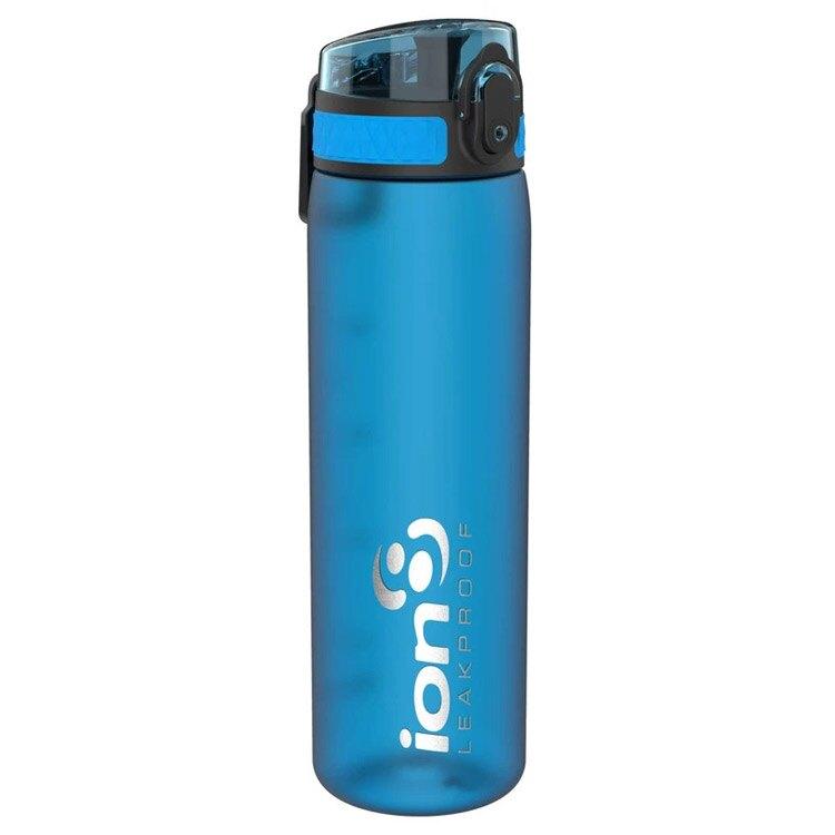ION8 Slim運動休閒水壺I8500【藍】 / 城市綠洲(100%不含BPA無毒、100%防漏、運動水壺)