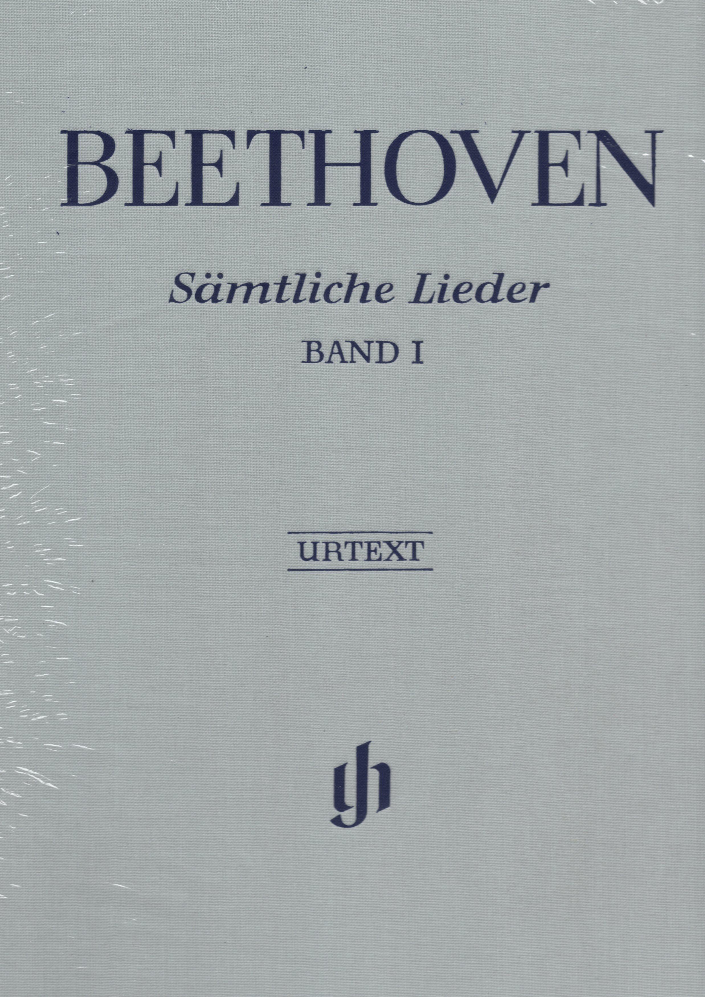 【聲樂樂譜】貝多芬完整藝術歌曲集(原典版) 第一冊 Ludwig van Beethoven: Smtliche Lieder (Urtext) Band 1