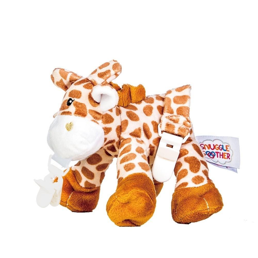 Snuggle 史納哥 - 娃娃奶嘴夾-長頸鹿