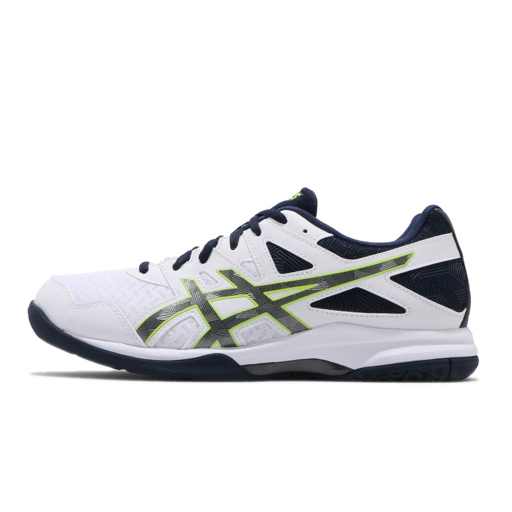 Asics 排球鞋 Gel-Task 2 白 深藍 男鞋 運動鞋 1071A037-101 亞瑟士 【ACS】