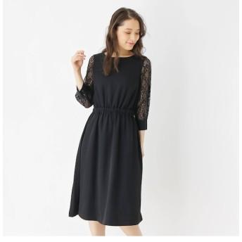 【グローブ/grove】 【S-LLまで】チュールスリーブドレス