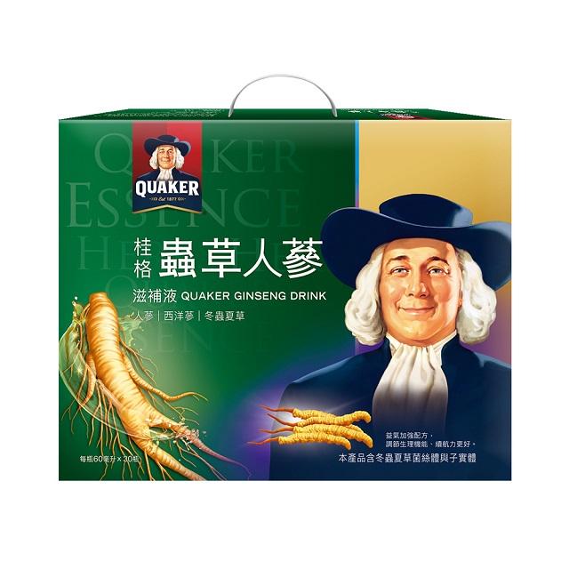 桂格 冬蟲夏草養氣人蔘(60mlx30瓶)