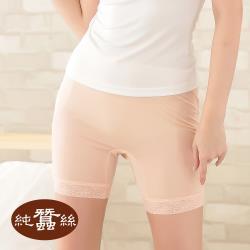 【岱妮蠶絲】FA9012E純蠶絲42針70G高腰四角蕾絲襯褲-中膚(MWA8A101)