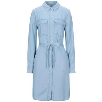 《セール開催中》VILA レディース ミニワンピース&ドレス ブルー 34 テンセル 100%