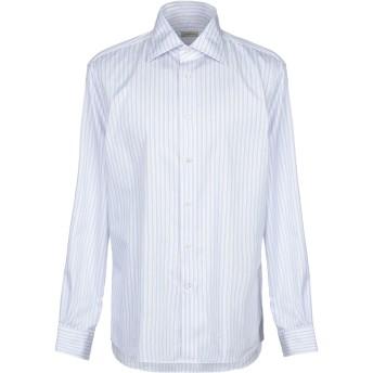 《セール開催中》MAURO GRIFONI メンズ シャツ ライラック 43 コットン 100%