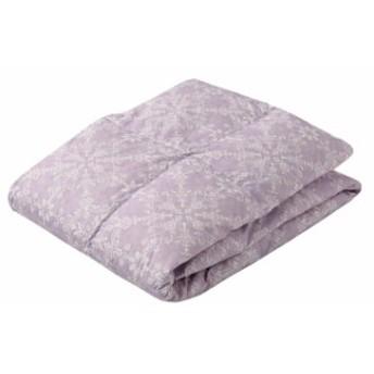 東京西川 ダウンケット (羽毛肌掛け布団) ピンク シングル ダックダウン85% 洗える 軽量 抗菌防臭 クレセント
