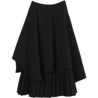 anana アナナ プリーツレイヤードスカート その他 スカート,ブラック