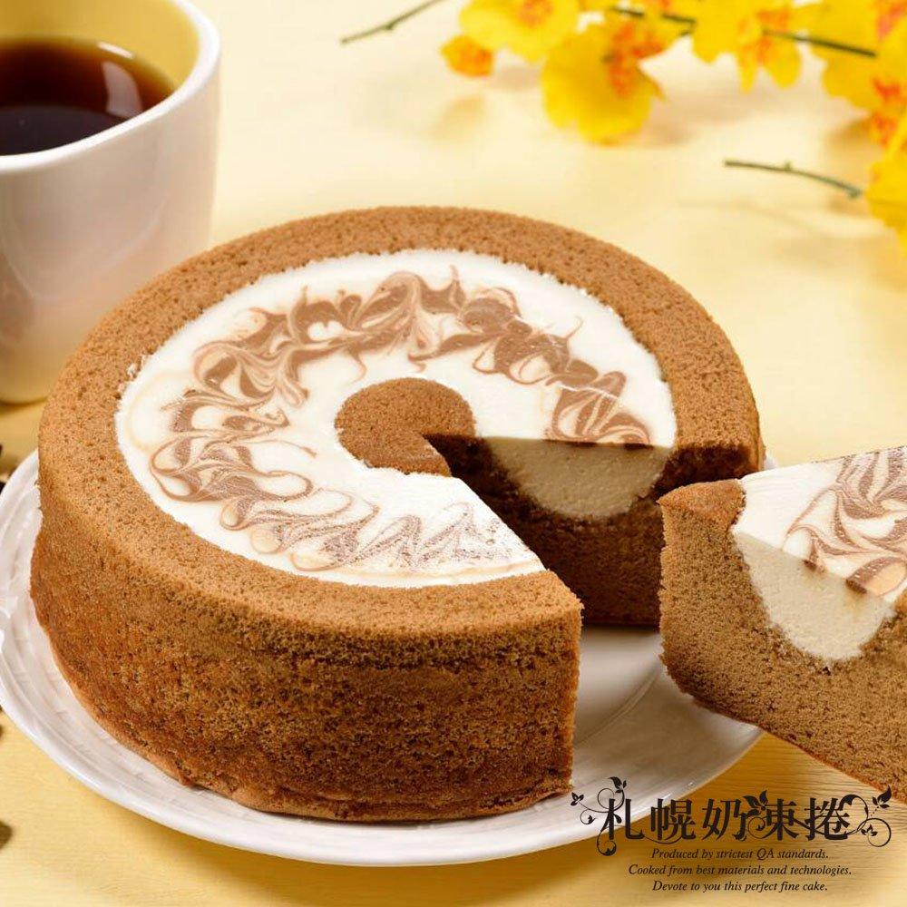札幌奶凍捲 咖啡甜心2入(4吋/入)
