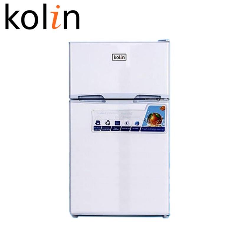 KOLIN 歌林一級節能100公升雙門小冰箱 KR-SE21003W