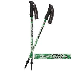 FIZAN  超輕三節式健行登山杖2入特惠組 蕨葉 (FZS20.7102.NFL)