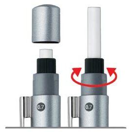 618購物節【FABER-CASTELL】輝柏 GRIP 2011自動鉛筆專用橡皮擦 10個入 / 盒 131558