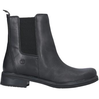 《セール開催中》TIMBERLAND レディース ショートブーツ ブラック 7 革 / 紡績繊維