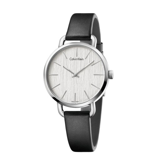Calvin Klein CK超然系列木質皮帶腕錶(K7B231C6)36mm