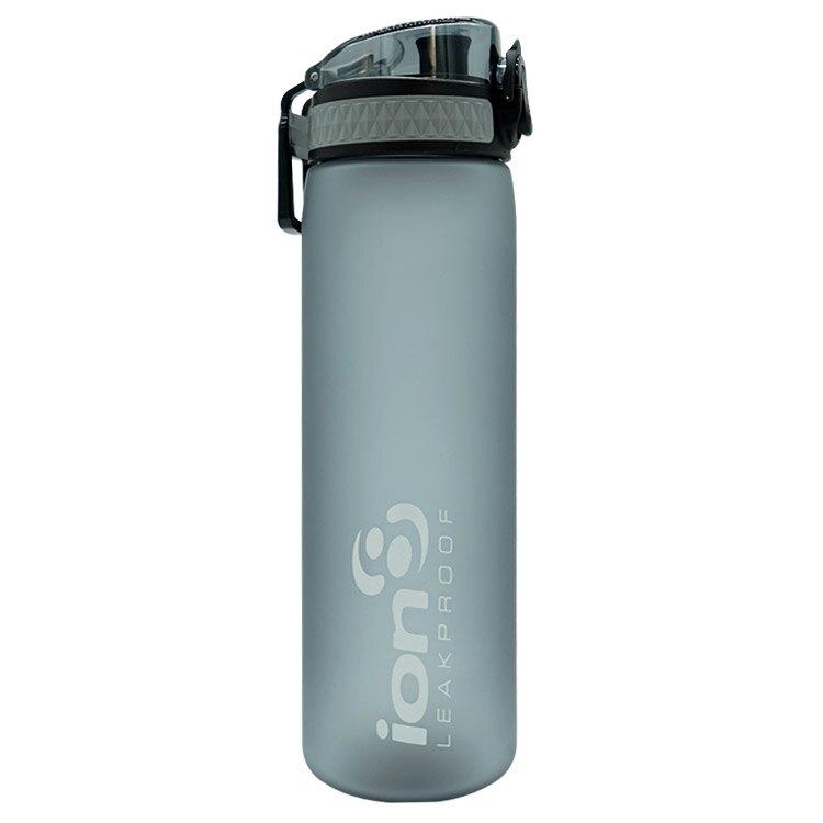 ION8 Slim運動休閒水壺I8500【灰】 / 城市綠洲(100%不含BPA無毒、100%防漏、運動水壺)
