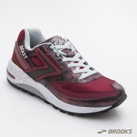 BROOKS 男慢跑鞋  Beast  1102241D629