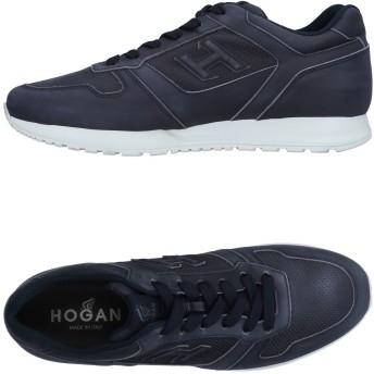 《セール開催中》HOGAN メンズ スニーカー&テニスシューズ(ローカット) ブルーグレー 5 革