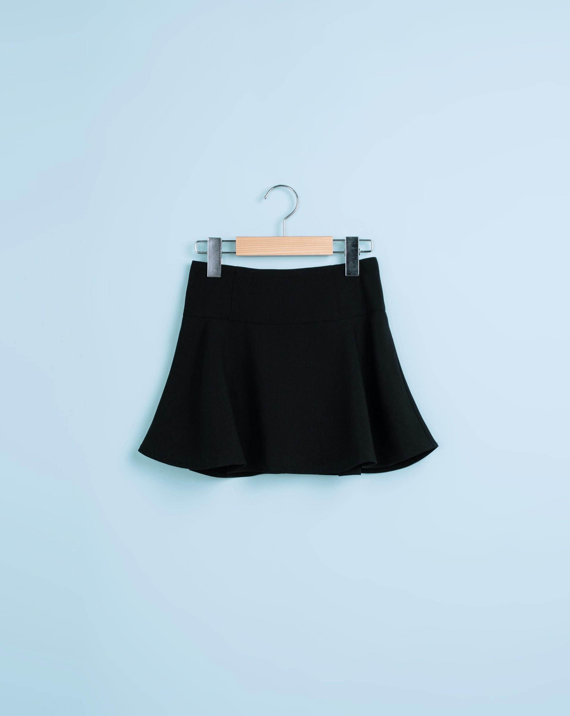 溫馨親子裝高腰傘擺褲裙(童)-Meierq