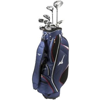 メンズゴルフクラブ10本セット RV-7《ネイビー/W#1、FW#5、UT#4、Ir#6 #9、PW、SW、PT/キャディバッグ付/RV-7 オリジナルカーボンシャフト》R