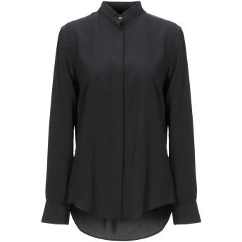《セール開催中》NINEMINUTES レディース シャツ ブラック 40 ポリエステル 100%