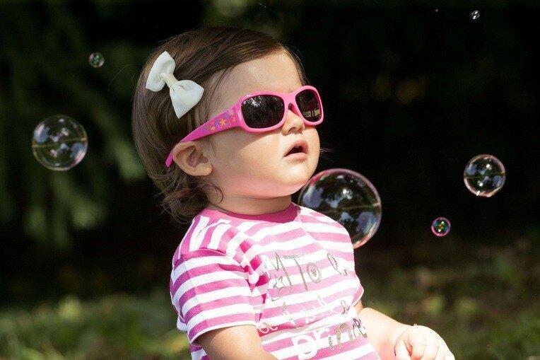 Chicco 兒童專用太陽眼鏡24m+ 海底世界粉 546元