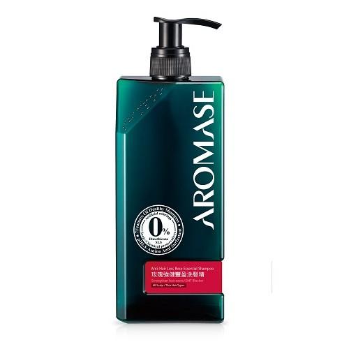 AROMASE 艾瑪絲 玫瑰強健豐盈洗髮精400ml