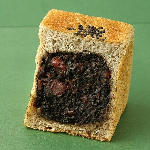 紅豆芝麻方塊麵包(奶素)(82g5%/包)