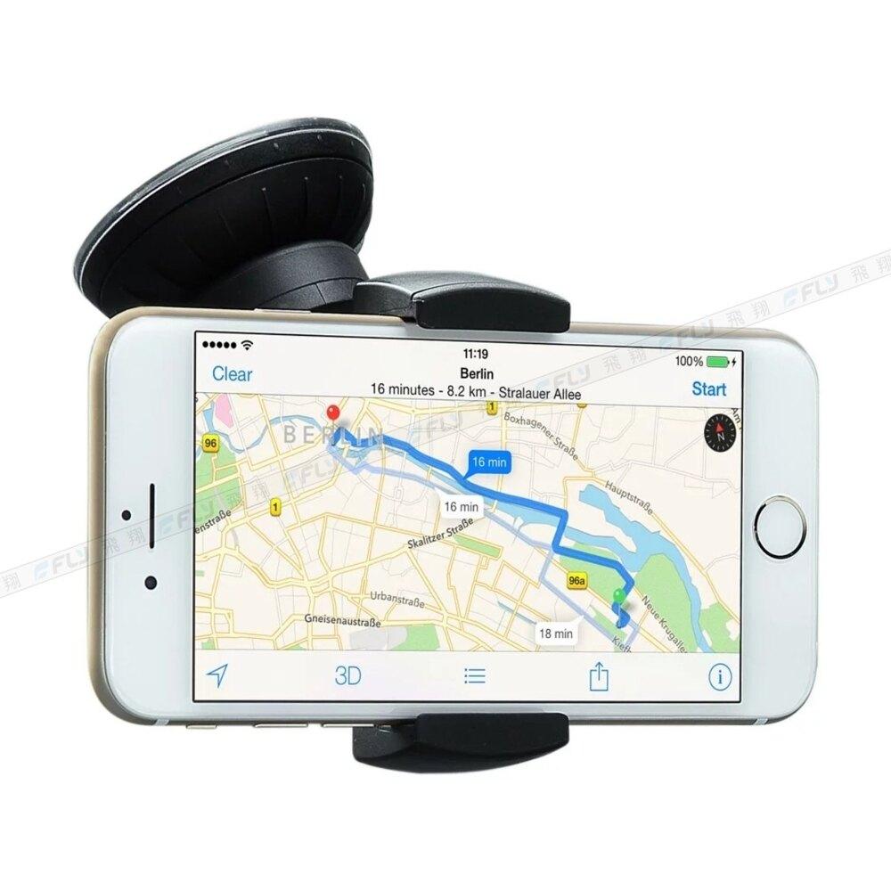 《飛翔3C》Just Mobile Xtand Go Z1 通用型車用吸盤手機架〔公司貨〕黏貼手機座 快拆手機夾