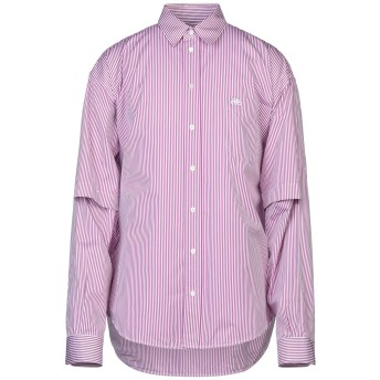 《セール開催中》BALENCIAGA メンズ シャツ ガーネット 37 コットン 100%