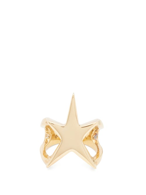 Alan Crocetti - Lucky Star Gold-plated Sterling-silver Ring - Mens - Gold