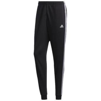 マストハブ 3ストライプス ジョガーパンツ ブラック×ホワイト 【adidas アディダス】サッカーフットサルウェアーgun51-fm5350