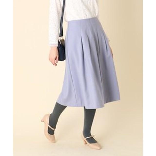 【Couture brooch:スカート】【W手洗い可】サキソニータックスカート