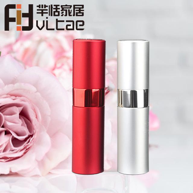 Fit Vitae羋恬家居 旋轉式便攜香水分裝噴瓶(銀)