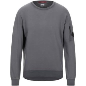 《セール開催中》C.P. COMPANY メンズ スウェットシャツ 鉛色 M コットン 100%