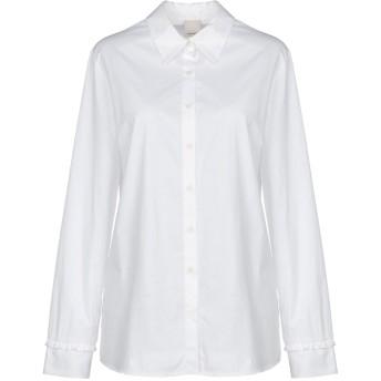 《セール開催中》PINKO レディース シャツ ホワイト 42 コットン 97% / ポリウレタン 3%