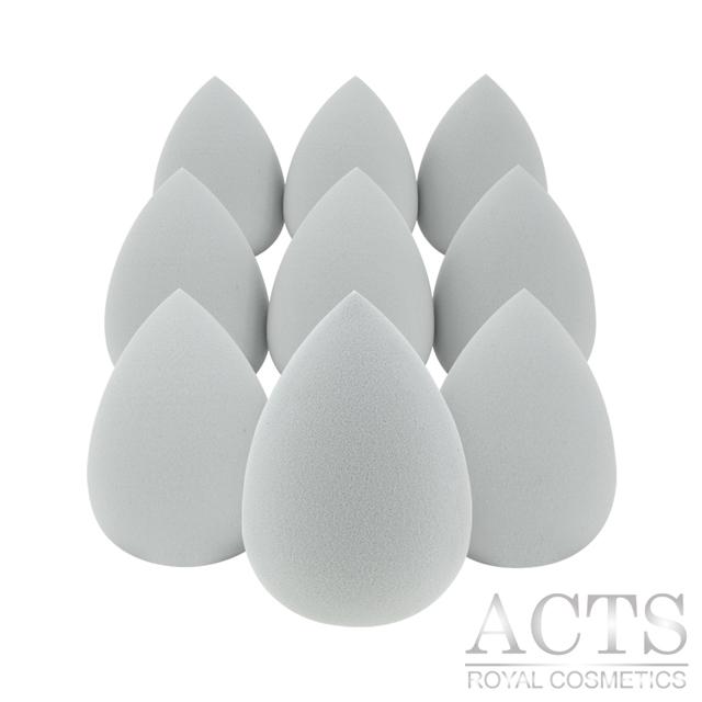 ACTS維詩彩妝 高密度Q海綿 水滴形灰9入