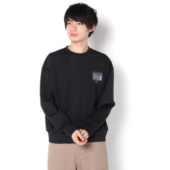 Lui's(ルイス) メンズ 【Lui's for 80KIDZ/JUN】ポンチスウェット ブラック