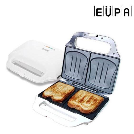 【優柏EUPA】免運 熱壓三明治機 熱壓土司機 TSK-2927 {蘑菇蘑菇 }