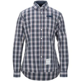 《セール開催中》FRED MELLO メンズ シャツ ブルー L コットン 100%