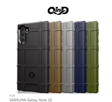 QinD SAMSUNG Galaxy Note 10+ 手機皮套 手機殼 戰術護盾保護套 手機保護殼